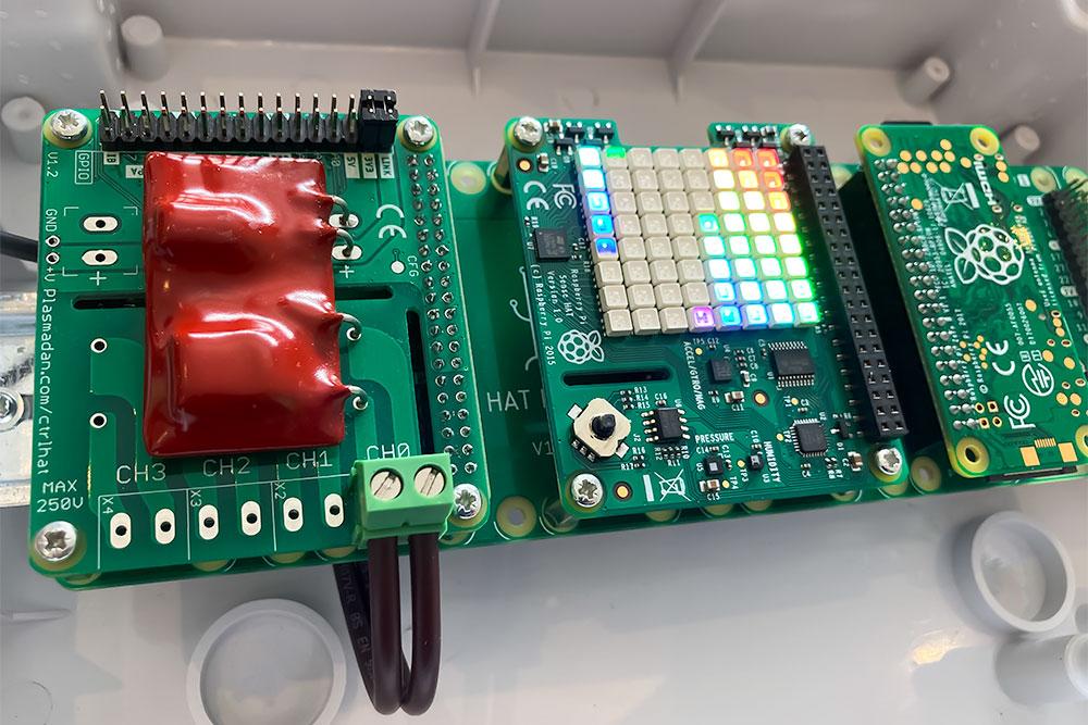 Home Automation DIN Rail Mountable Raspberry Pi